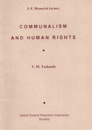 Communalism and Human Rights